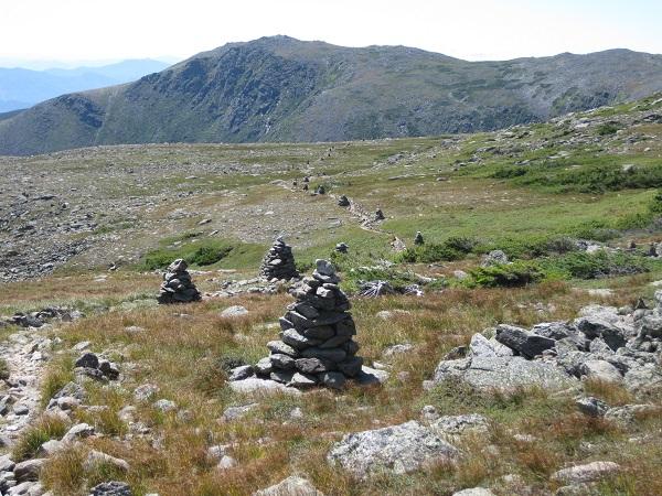 alpine garden cairns